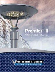 Premier II - Architectural Brochure - Visionaire Lighting, LLC