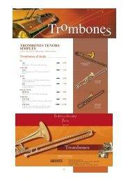 trombones basses - Feeling Musique