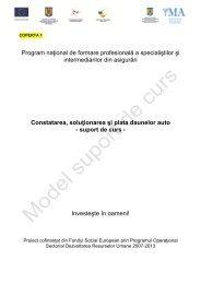 model suport curs - Institutul de Management in Asigurari