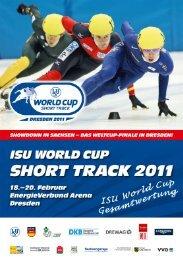 Short Track Speed Skating - Results - Sportmittelschule Dresden