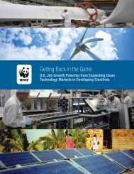 Getting Back in the Game: U.S. Job Growth Potential ... - WWF Blogs