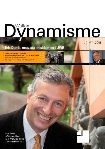 Dynamisme 198 pour pdf - Union Wallonne des Entreprises