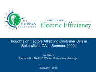 Thoughts on Factors Affecting Customer Bills in Bakersfield, CA ...