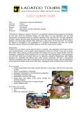 CUZCO CULINARY TOURS - Ladatco Tours - Page 3