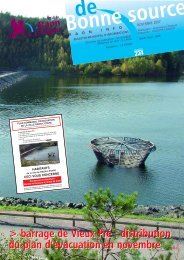 barrage de Vieux Pré : distribution du plan d ... - Raon l'Etape