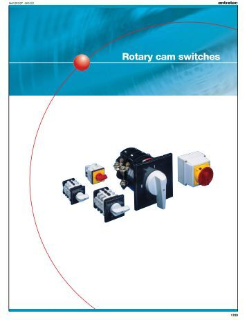 Salzer Rotary Cam Switch