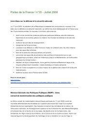 Parlez de la France ! n°35 - Juillet 2008 - Consulat général de ...