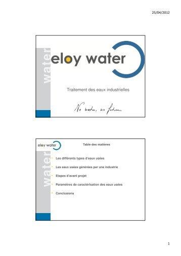 Les techniques de traitement des eaux usées industrielles