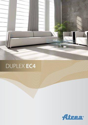 DUPLEX EC4, ECV4 Marketing catalogue - ATREA sro