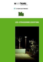 LED-STRASSENBELEUCHTUNG - Polyscope