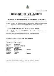 Deliberazione della Giunta Comunale n. 64 del 10.04.2013