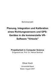 Planung, Integration und Kalibration eines ... - lifeClipper2
