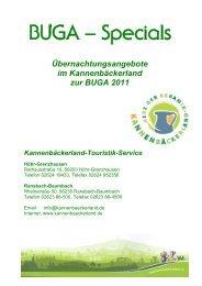 BUGA – Specials - Verbandsgemeinde Ransbach-Baumbach