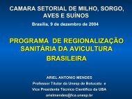 Palestra Ariel Regionalização Camara Setorial - Embrapa Suínos e ...