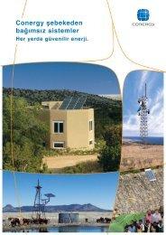 Conergy şebekeden bağımsız sistemler - Solar Bazaar