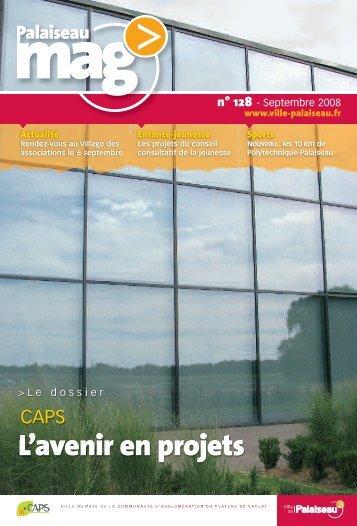 Palaiseau Mag n°128 - Septembre 2008 - Ville de Palaiseau