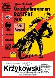 Grasbahnrennen RASTEDE - Rasteder Automobil Club eV im  ADAC