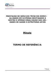 Minuta TERMO DE REFERÊNCIA - Sesab