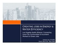creating jobs in energy & water efficiency - Good Jobs First
