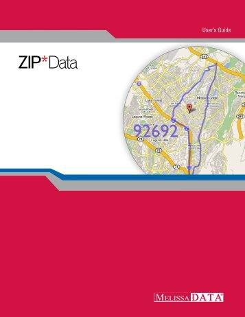 ZIP Data Users Guide.book - Melissa Data