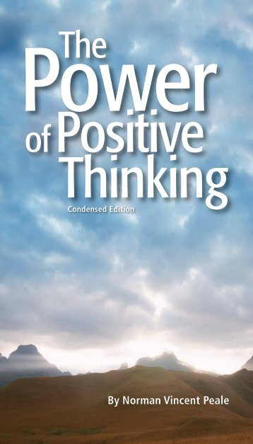 The Power of Positive Think - Guideposts Foundation
