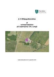 12 miljøgodkendelse af Løjstrupvej 12a, 8870 Langå - Favrskov ...