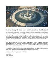 Selamat Datang di Situs Resmi LCCI International Qualifications!