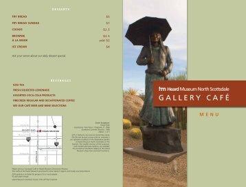 GALLERY CAFÉ - Heard Museum