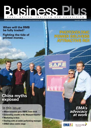 Business Plus May 2012 - EMA