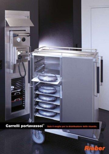 Carrelli porta vassoi - RA TIO NA L ::: Bolzano distribution