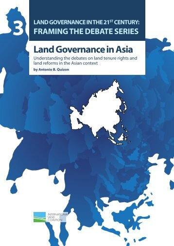 Land Governance in Asia - International Land Coalition