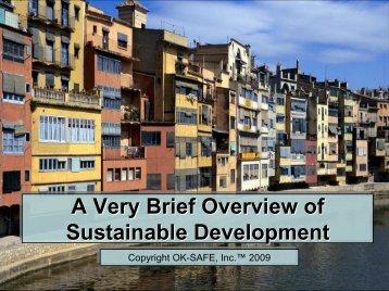 Agenda 21 - Sustainable Development - OK-SAFE
