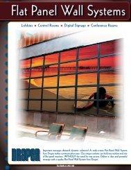 Flat Panel Wall Systems Brochure (.pdf) - Draper, Inc.