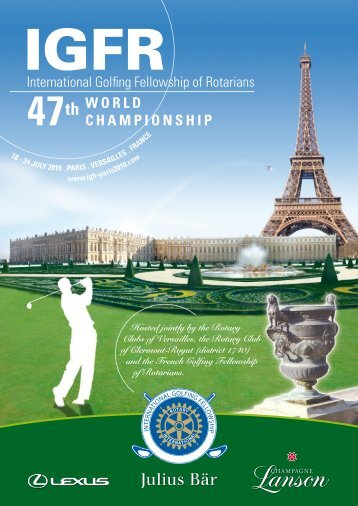 WORLD CHAMPIONSHIP - ROTARY GOLF