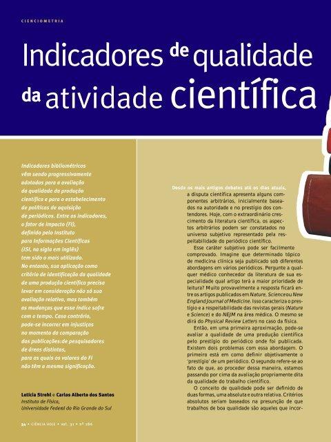 Veja o texto completo - Instituto de Física - UFRGS