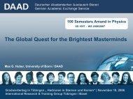 Bildungsmarkt, Internationalisierung, Forschung - Internationales ...
