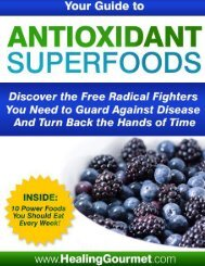 Antioxidant Superfoods - The Food Cure: Your Healthy Eating ...