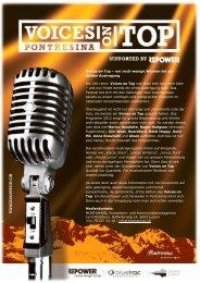 Pressemitteilung September 2012 Deutsch12. 09 ... - Voices on Top