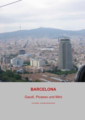 BARCELONA - Quadriga-Studienreisen