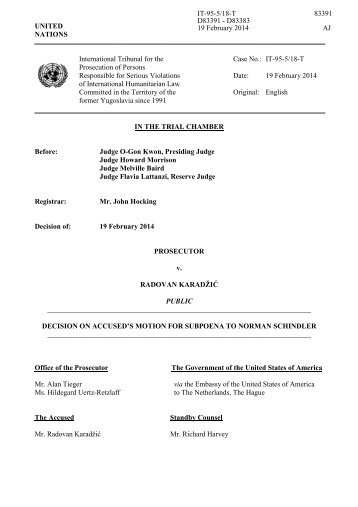 Amended Motion for Issuance of Subpoena - Federal Trade ...