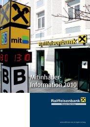 Mitinhaber- Information 2010