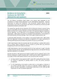 Guidance on Consultants Contracts for ISO 15189 Laboratories - INAB