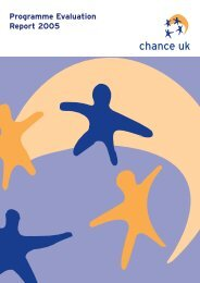 chance UK evaluation 20pp - Scottish Mentoring Network