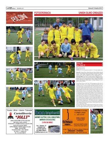UNION OC - SAN VITALE 95 - SPORTquotidiano
