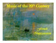 Music of the 20th Century - band4me