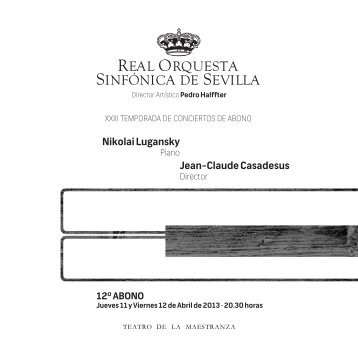 Nikolai Lugansky Jean-Claude Casadesus - Real Orquesta ...