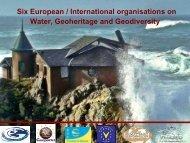 Water Green WEEK - European Federation of Geologists
