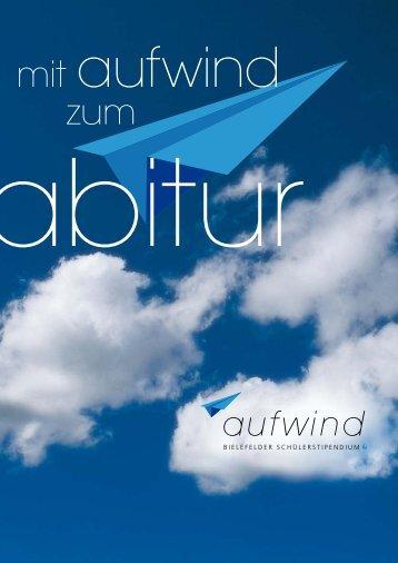 Bewerbungsbogen 2013 (pdf) - Bielefelder Bürgerstiftung