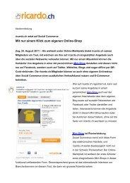 Mit nur einem Klick zum eigenen Online-Shop