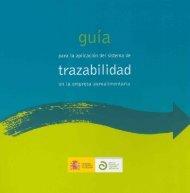 Guía de Trazabilidad en la empresa agroalimentaria - Fiab